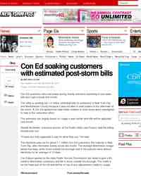 Con Ed soaking customers with estimated post storm: NY Post